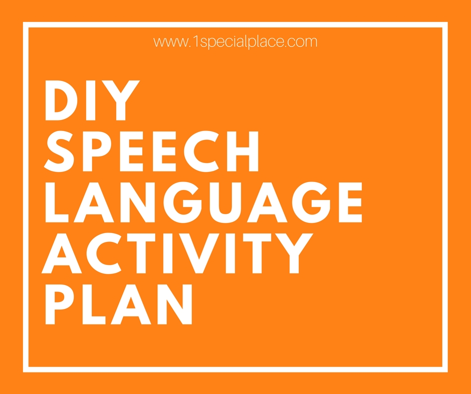 DIY speech plan