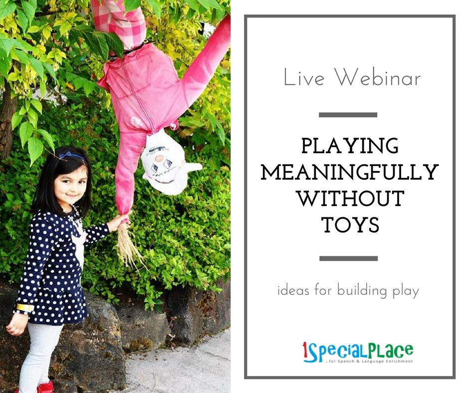 Playing Meaningfully Without Toys