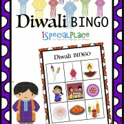DIWALI BINGO WORKSHEET
