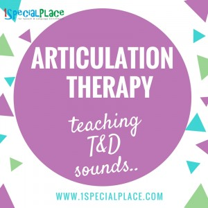 T&D articulation therapy