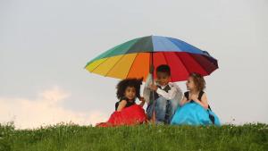 umbrella - who is under